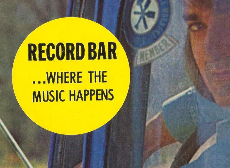 record bar sticker